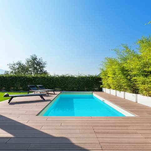Swimming pool builder and maintenance service provider with loyal customer base